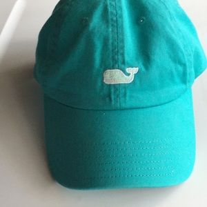 Women's Vineyard Vines Twill Ball Cap - Turquoise